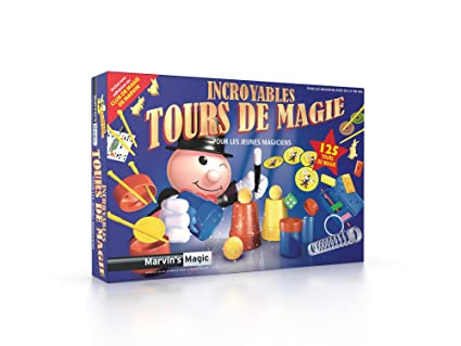 Marvin's Magic - 430232 - Incroyables Tour de Magie  - 125 Tours de Magie