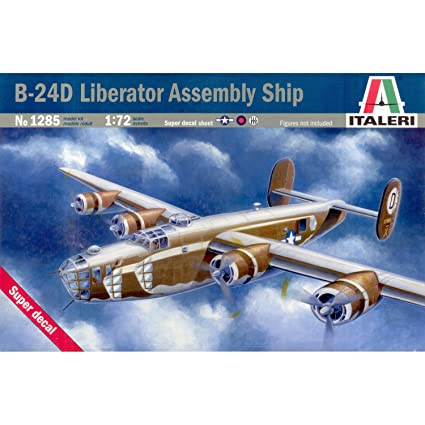 T2M - I1285 - Italeri - Maquette Plastique à Assembler - B-24d Liberator - Echelle 1/72
