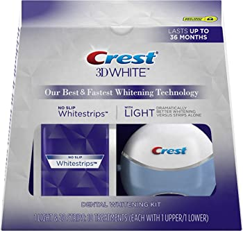 Crest 3D 10 ct White Whitestrips with Light