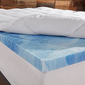 Sleep Innovations 4 Inch Gel width=