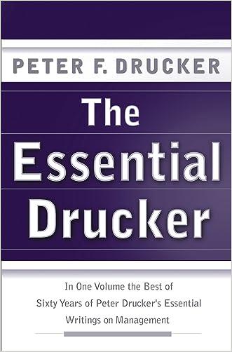 The Essential Drucker (Collins Business Essentials)