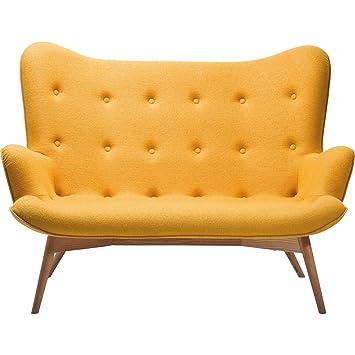 Kare 78500 Sofa Angels Wings 2-Sitzer, gelb