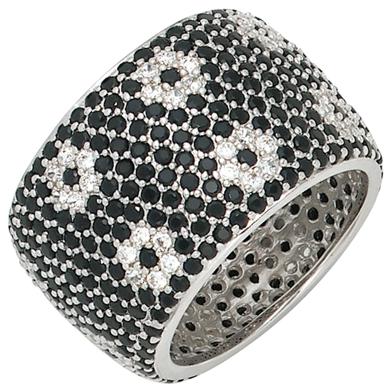 Damen-Ring 925 Sterling Silber mit Zirkonia