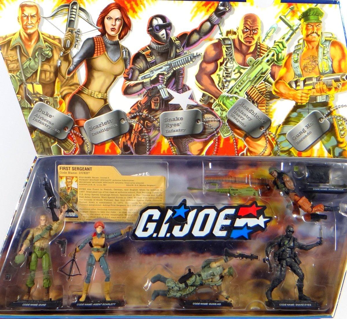 G.I. Joe Heroes mit 5 Actionfiguren & Sound 25th Anniversary Collector Set von Hasbro günstig bestellen