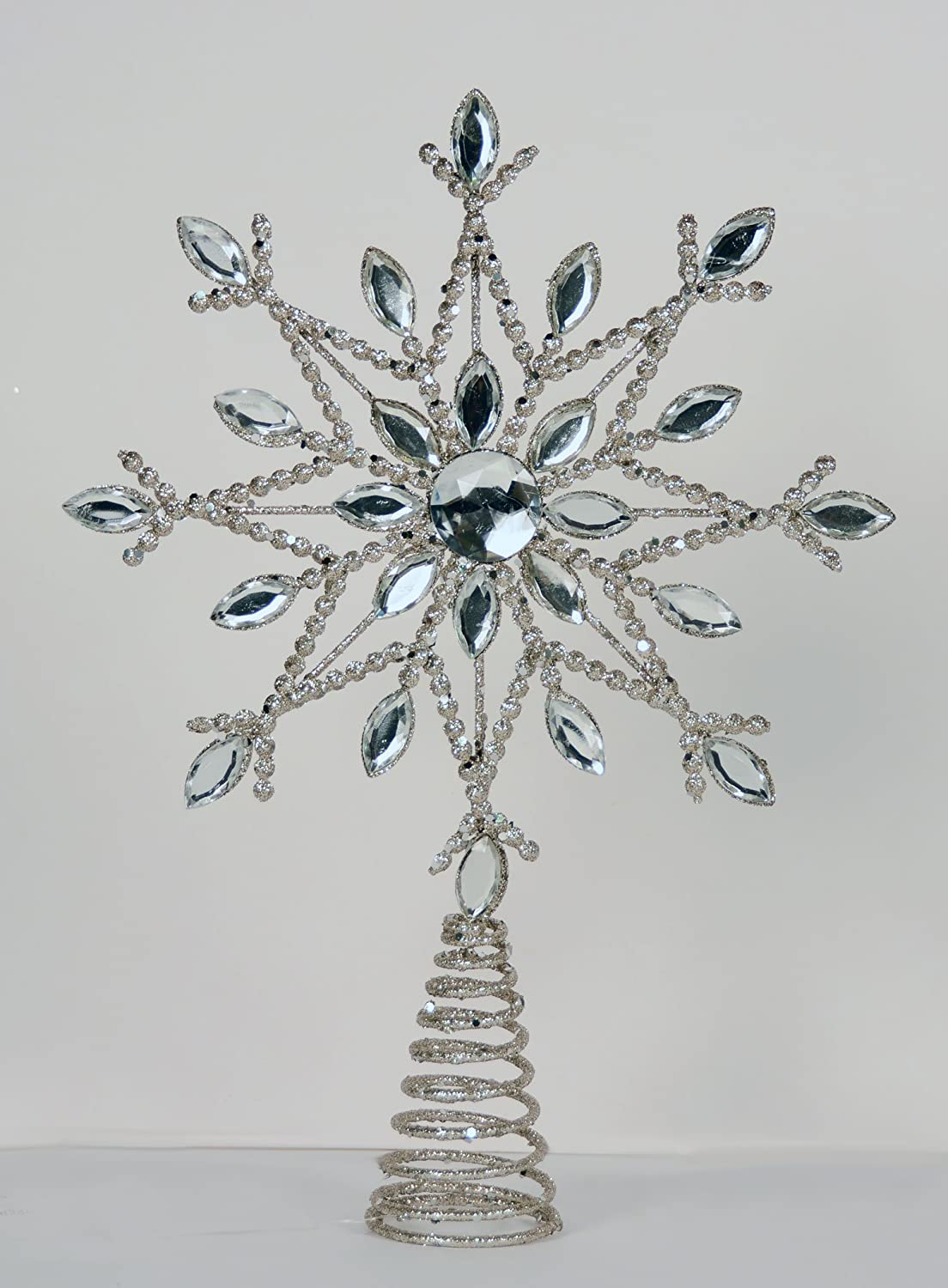 Snowflake Tree Toppers | Christmas Wikii