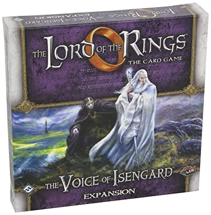 Lord Of The Rings - 331039 - Jeu De Cartes - The Voice Of Isengard Expansion
