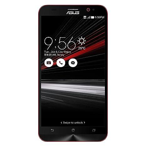 Asus Zenfone Deluxe Smartphone débloqué 4G (Ecran: 5,5 pouces - 128 Go - Double SIM - Android 5.0 Lollipop) Noir