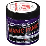 Manic Panic Electric Amethyst Hair Color Cream (Color: Electric Amethyst, Tamaño: 4 Ounce)