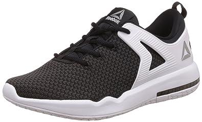 Reebok Women's Hexalite X Glide Blak, Coal, White and Pewter Running Shoes 4
