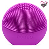 FOREO LUNA play - All the Power of T-SONIC Cleansing in 1 Small Device, Purple (Color: Purple)