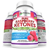 Pure 100% Raspberry Ketones MAX 1000mg Per Serving ? 3 MONTH SUPPLY ? Powerful Weight Loss Supplement ? Provides Energy Boost for Weight Loss ? 180 Capsules by Fresh Healthcare
