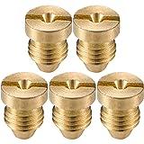 Tatuo 5 Pack Foam Cannon Orifice Nozzle Tips, Universal Thread Nozzle for Snow Foam Lance, 1.1 mm, 3000 PSI