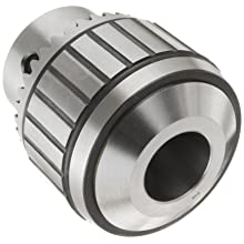 "Llambrich CBB Ball Bearing K5 Keyed Drill Chuck, 5JT Mount, 3-21/32"" Chuck Diameter, 3/16""-1"" Capacity"