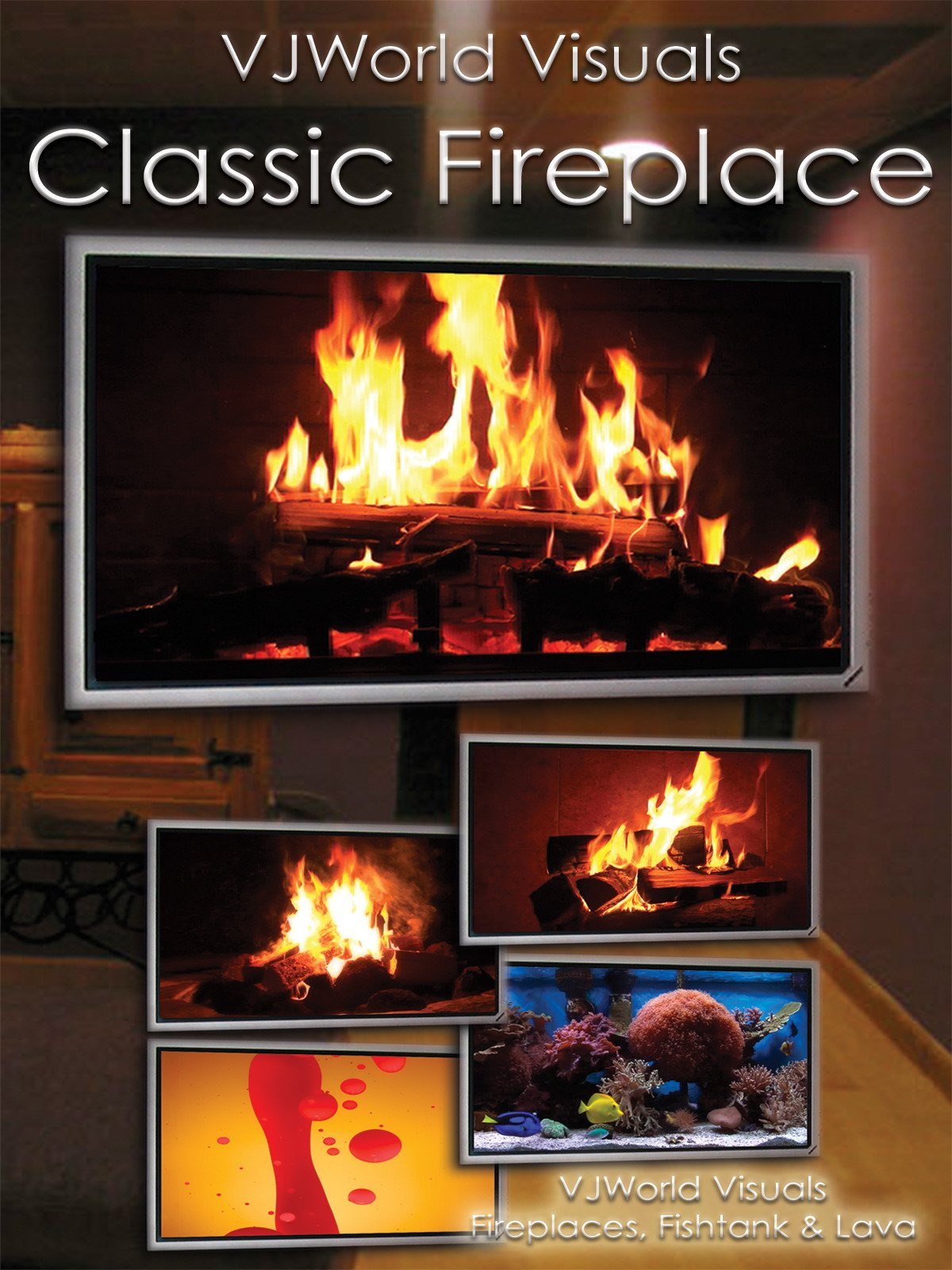 VJWorld Visuals Classic Fireplace (Fireplaces, Fishtank & Lava)