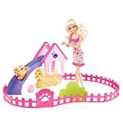 Barbie Puppy Play Park and Barbie Doll Giftset