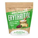 Erythritol Sweetener Natural Sugar Substitute 3lb - Granulated Low Calorie Sweetener High Digestive Tolerance Suitable for Diabetes Keto and Paleo - Baking Substitute Non GMO (Tamaño: 3 Pound)