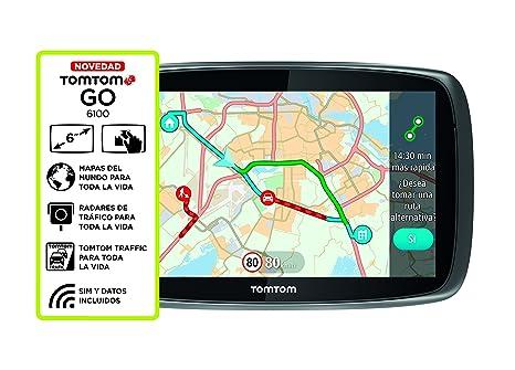 TomTom 1FL6.002.50 GPS Noir, Argent