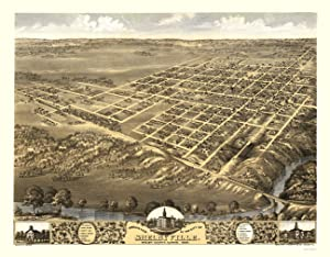 Panoramic Map of Shelbyville