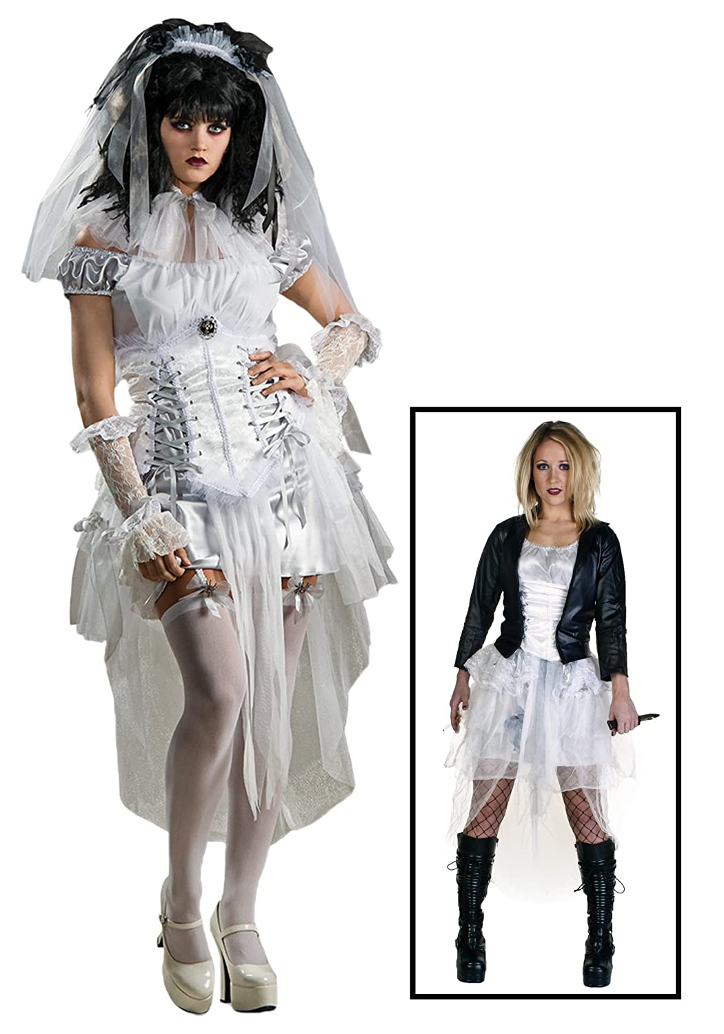 Bride of Chucky Costume Baby Gothic Bride of Chucky Costume