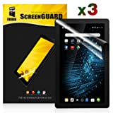 TabSuit Dragon Touch X10 10.6 Inch Screen Protector Ultra-Clear of High Definition (HD)-3 Pack for Dragon Touch X10 Tablet NOT Suit for X10 10.1 Edition (Color: Clear)