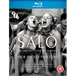 Sal�, or the 120 Days of Sodom [Blu-ray]