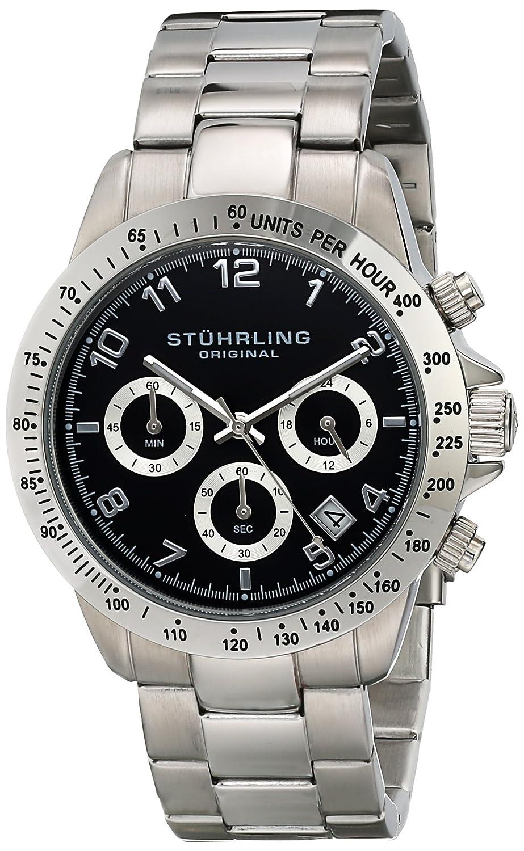 Top 10 Best Chronograph Watches For Men Under 200 2016 2017 On Fossil Jr1510 Original Stuhrling Concorso Mens Sports Watch Analog Quartz Black Dial Date Display Wrist
