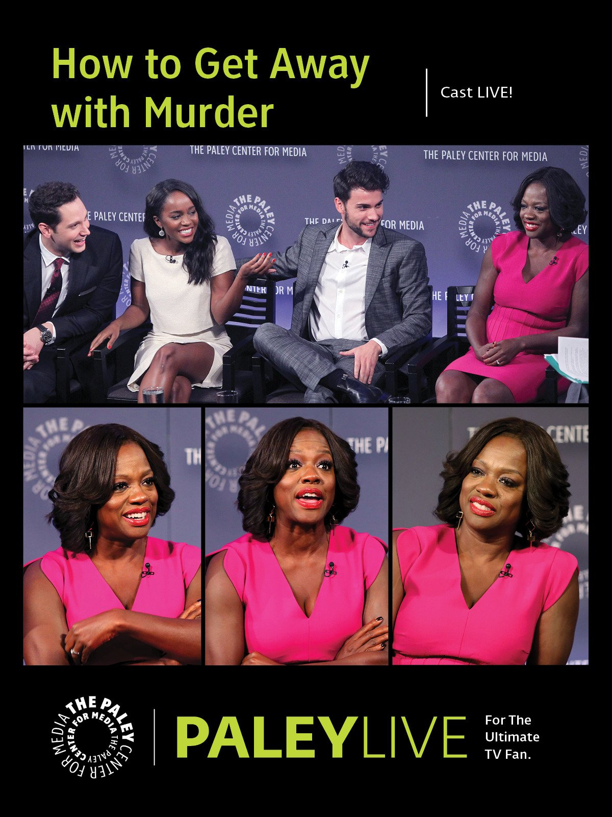 How to Get Away with Murder: The Cast at PaleyLive NY