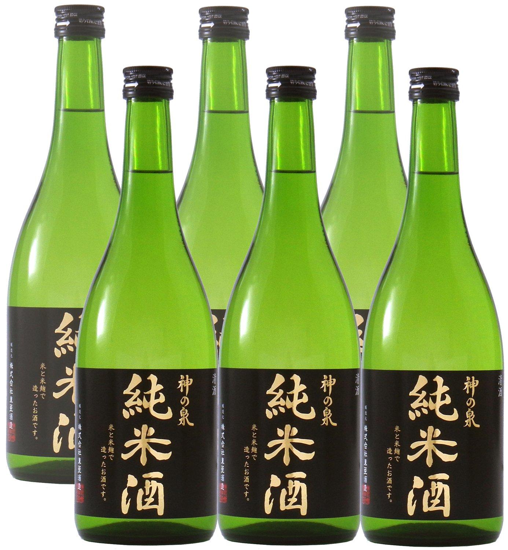 Amazon.co.jp: <b>東亜酒造</b> 神の泉 原酒 瓶 720ml×6本: 食品・飲料・お酒