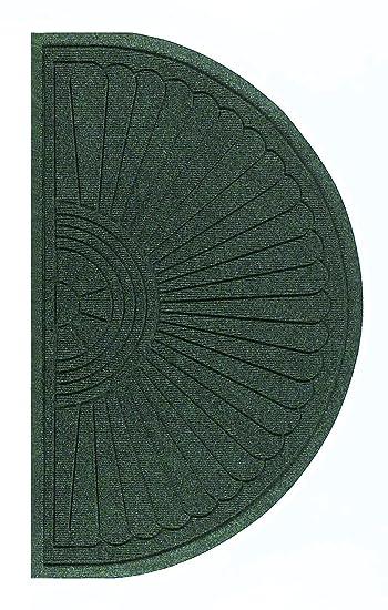 Andersen 280 Waterhog Fashion Polypropylene Fiber Entrance Indoor//Outdoor Floor Mat 4-Feet Length X 3-Feet Width SBR Rubber Backing 3//8-Inch Thick Aquamarine