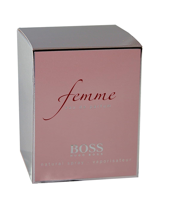 hugo boss femme eau de parfum spray for women 50ml british shop angielski sklep. Black Bedroom Furniture Sets. Home Design Ideas