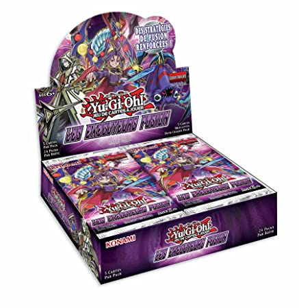 Boosters Yu-Gi-Oh! Boite De 24 Boosters Les Exécuteurs Fusion