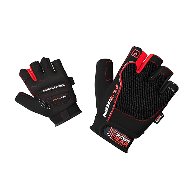 Crown Gear Fusion Weightlifting Gloves