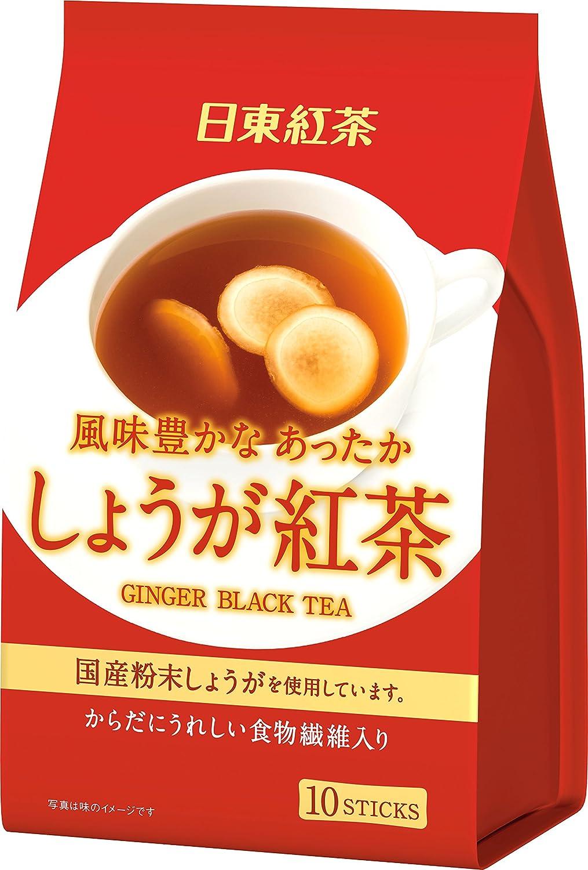 日東紅茶 しょうが紅茶 スティック (10g×10P)×3個