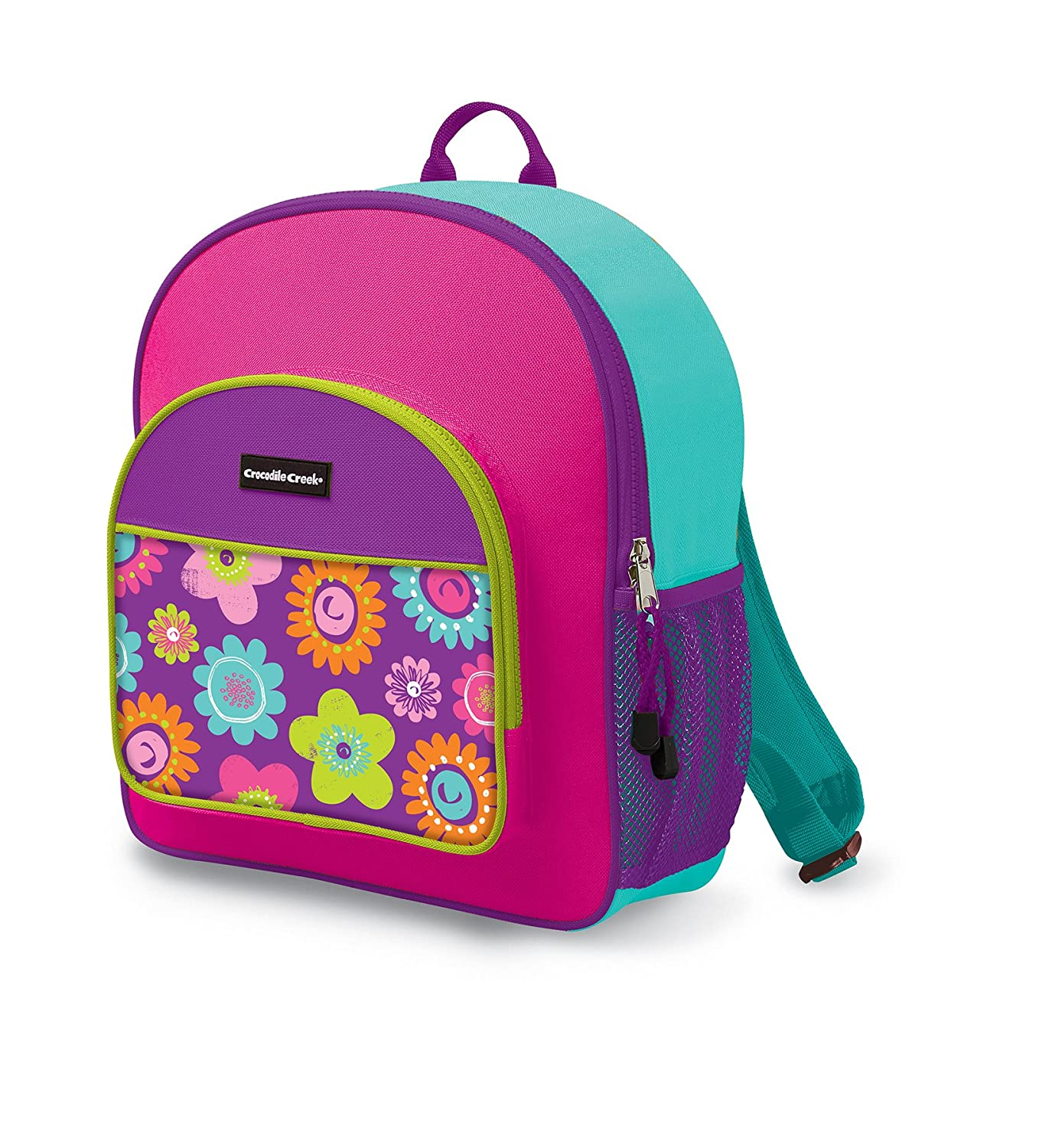 Crocodile Creek Kids Backpack, in Three Flowers