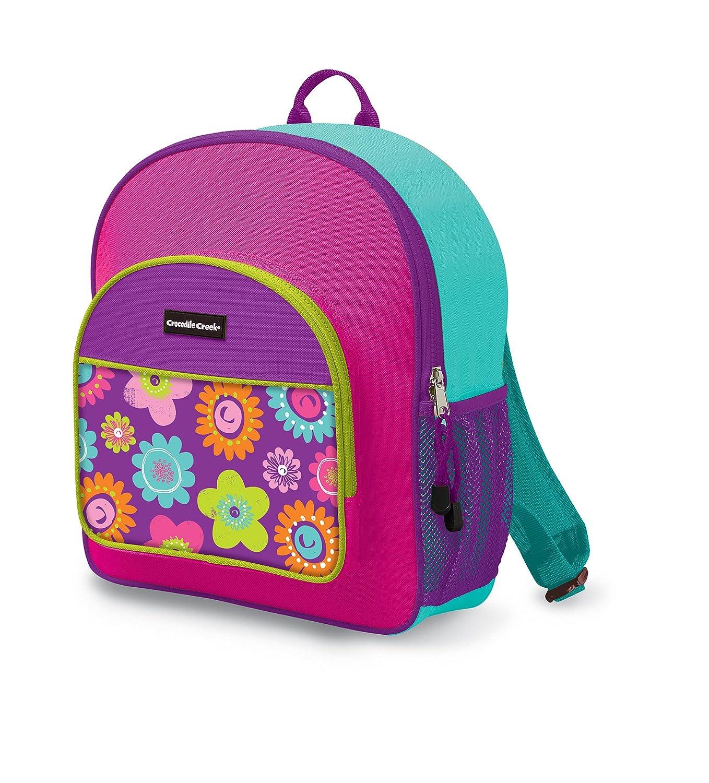 Crocodile Creek Kids Backpack, in Three Flowers