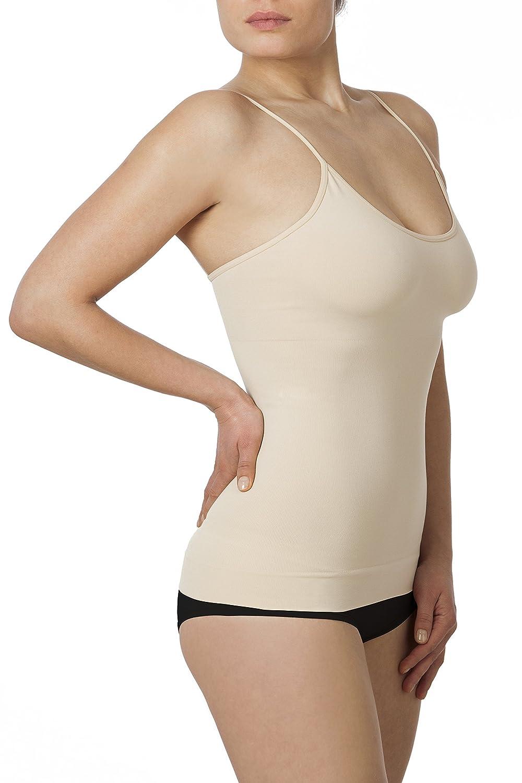 Sleex Figurformendes Damen Unterhemd (mit feinen Traegern) kaufen