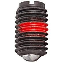 Jergens 10917 Steel Ball Plungers, Low Carbon Steel, 5/8-11 Thread, With Locking Element