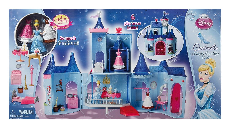 美泰灰姑娘魔法城堡娃娃屋