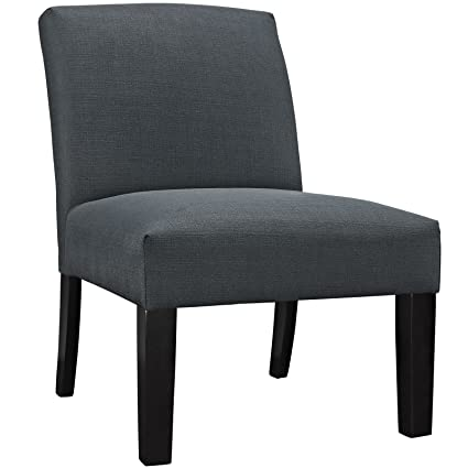Auteur Fabric Armchair in Gray