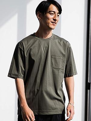 UNITED ARROWS green label relaxing(ユナイテッドアローズ グリーンレーベル リラクシング) CM ハイゲージポンチ クルー Tシャツ 32172254624