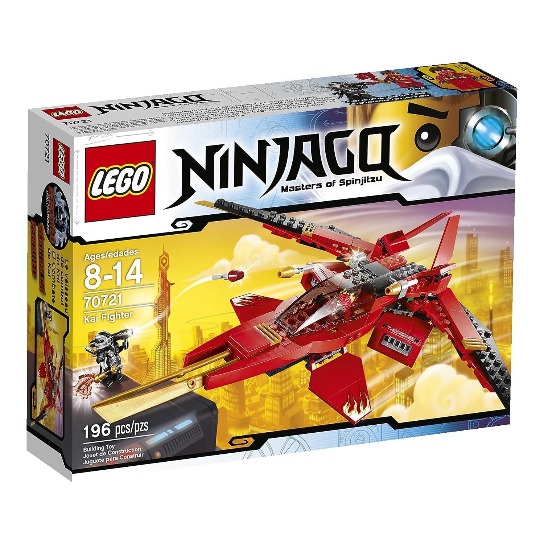Lego ninjago 70721 kai fighter toy - Lego ninjago 4 ...