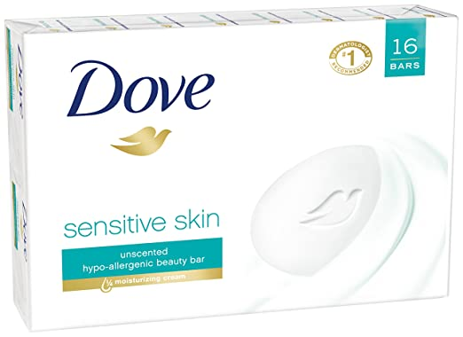 Dove Beauty Bar, Sensitive Skin