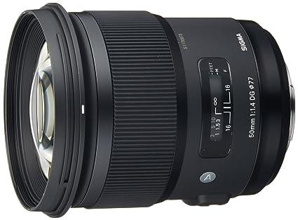 Sigma 50 mm / F 1,4 DG HSM Objectifs