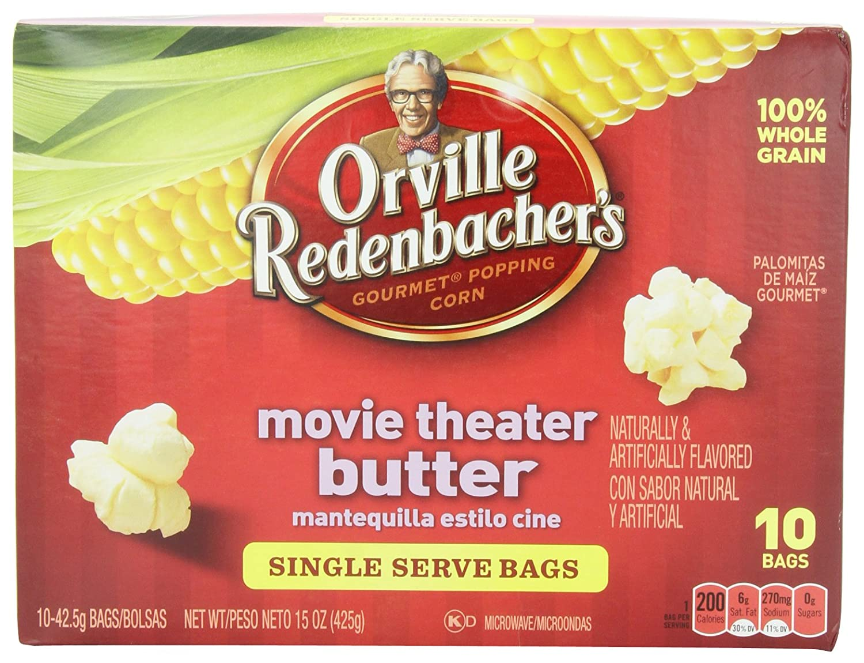 Bag Microwave Popcorn Butter Popcorn Mini Bags