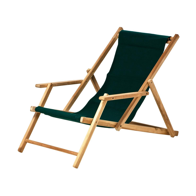 Deckchair Acryl dunkelgrün günstig online kaufen