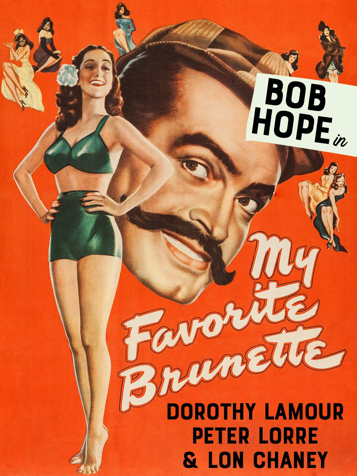 "Bob Hope in ""My Favorite Brunette"""