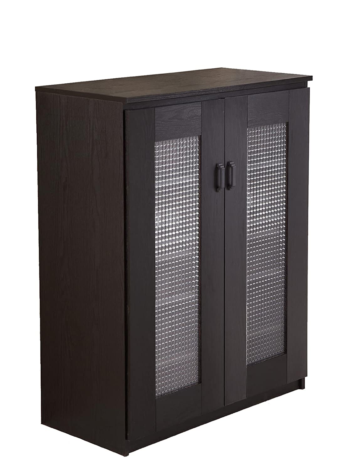 Enitial Lab Brisk 5-Shelf Shoe Cabinet, Black $186.99