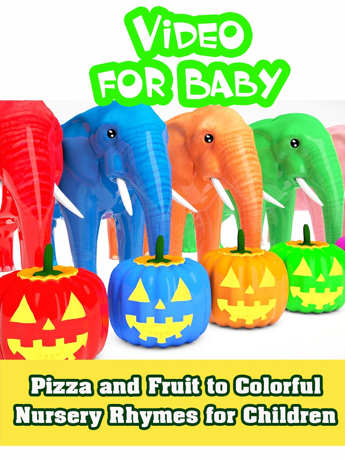 Pumpkin Halloween to Teaching Colors for Baby on Amazon Prime Instant Video UK