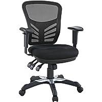 Modway Articulate Black Mesh Office Chair