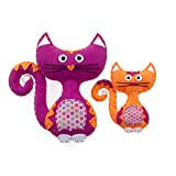 American Girl Crafts Cat Sew and Stuff Activity Kit, DIY Cat Stuffed Animals (Color: Cats)